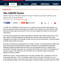 Weekly Standard: The GROM Factor